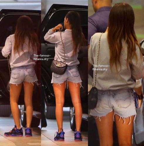 Rihanna de sortie à Los Angeles