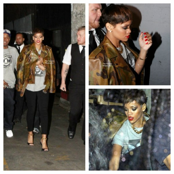 "Rihanna au club "" My Studio "" à Los Angeles"
