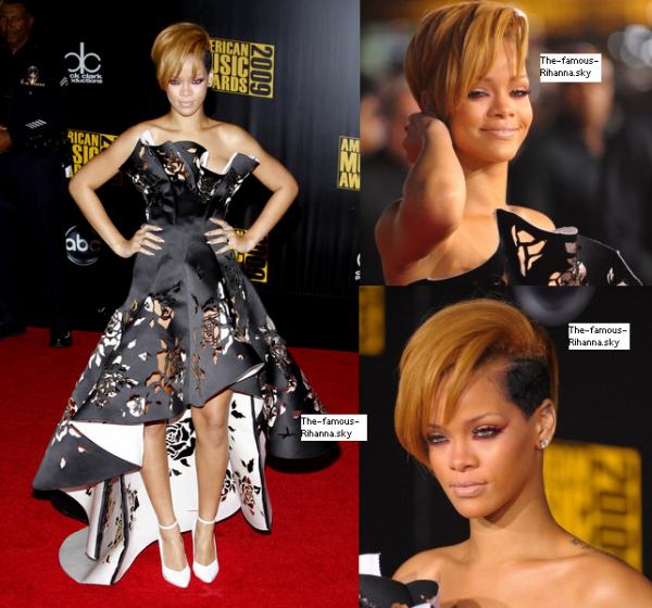 Les plus belles apparitions sur tapis rouge de Rihanna