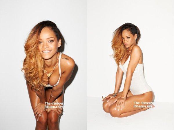 """Photoshoot de Rihanna pour """" Rolling Stone """""""