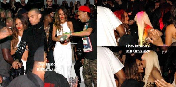 """Rihanna et Chris Brown à l'intérieur du """" supperclub """""""