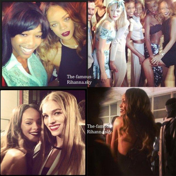 La Fashion Week présente la collection de Rihanna