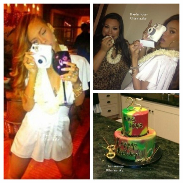 Rihanna fête son anniversaire