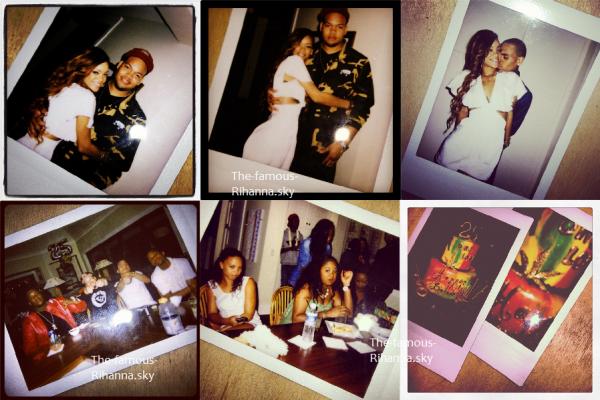De nouvelles photos de Rihanna à son anniversaire