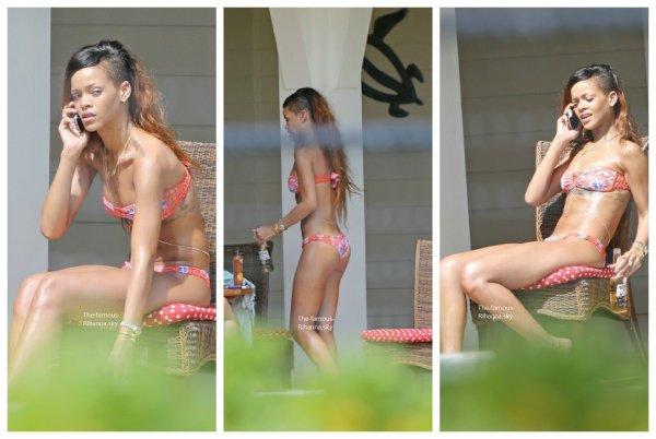 Rihanna pendant ses vacances à Hawaï