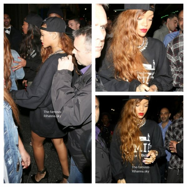 "Rihanna arrivant au "" Supperclub """