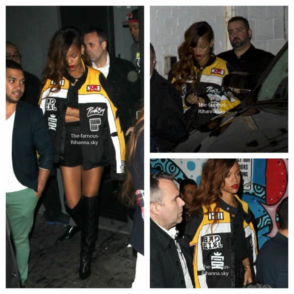 "Rihanna au club "" Playhouse "" de Los Angeles"