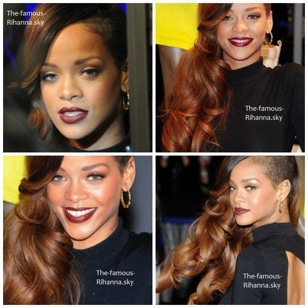 Rihanna au lancement de sa collection pour « River Island »