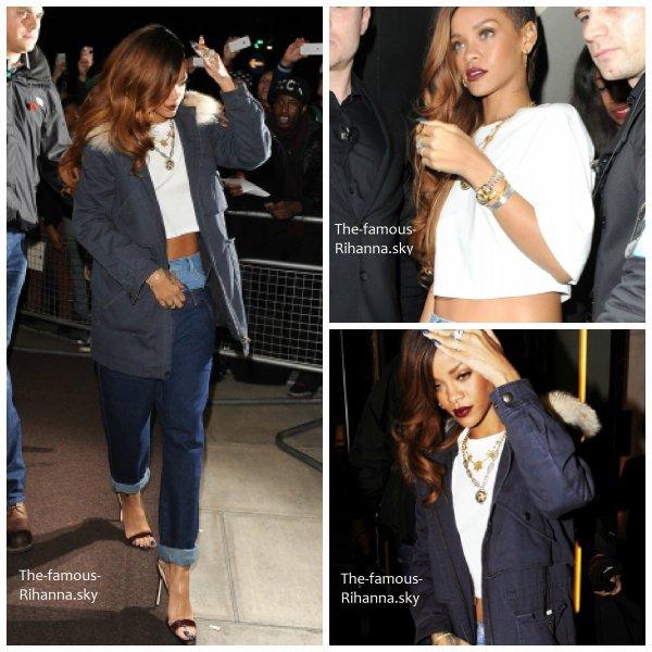 Rihanna dans les rues de Londres