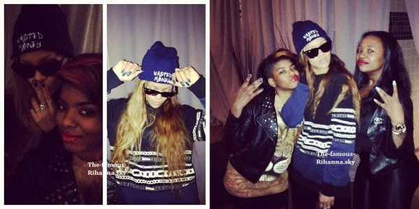 "Rihanna dans les coulisses du "" Diamonds World Tour "" à Philadelphie"