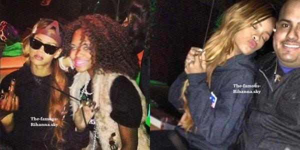 Rihanna en soirée de pré-Saint Patrick