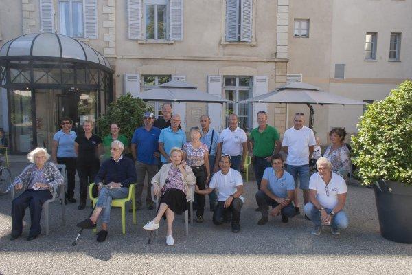 Visite Maison de retraite de Diémoz