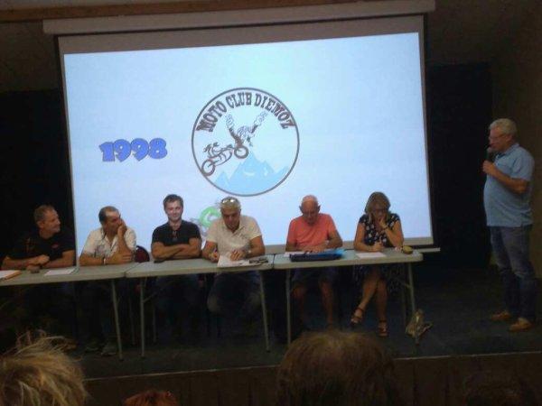 Discours du président AG Moto club de Diémoz