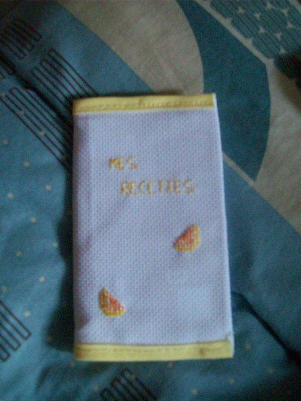 petit carnet citron
