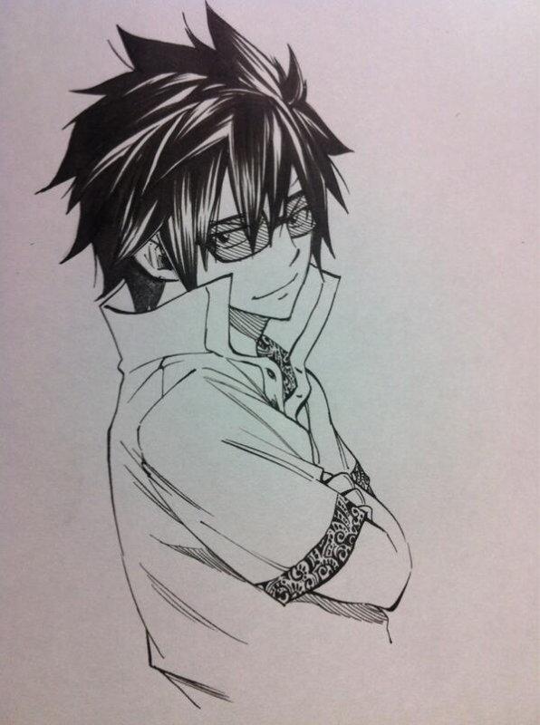 Grey dessin de Mashima