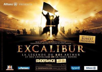 EXCALIBUR AU STADE DE FRANCE