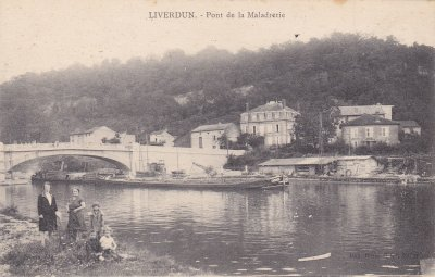 """Liverdun: l'histoire du """"pont des feignants""""."""