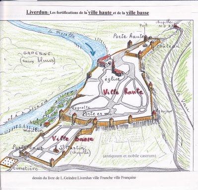 Liverdun : les fortifications :