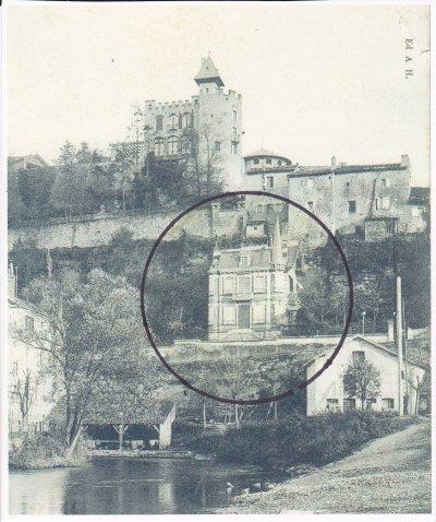 Le pavillon Quintard en 1900