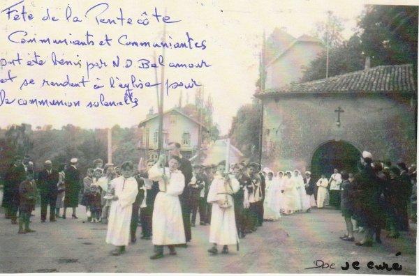 """Liverdun:  La chapelle N.D du Bel Amour  """" délabrée""""  ."""