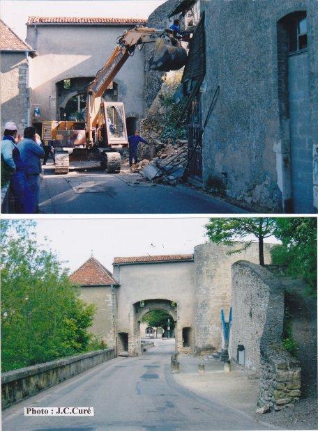 Destruction de la menuiserie Desjardin.