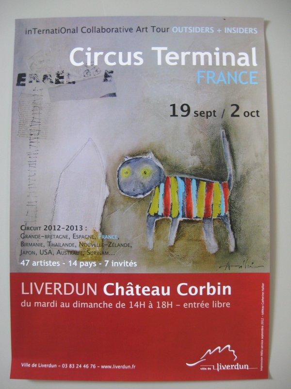 Liverdun: Le circus terminal au château Corbin.