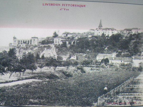 Liverdun : les cartes postales du vide grenier ( sept 2015 )
