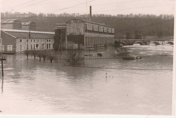 Liverdun : C'était la Moselle en crue :