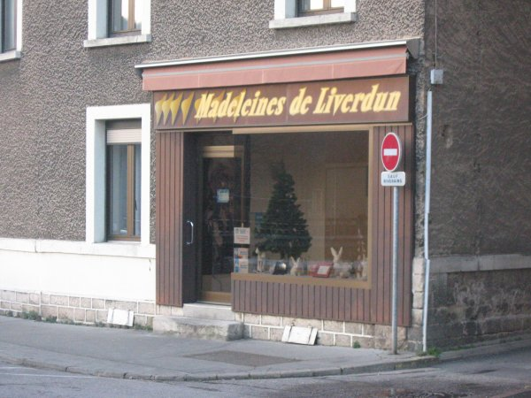 Liverdun : 8 Février : ouverture du nouveau point de vente des madeleines .