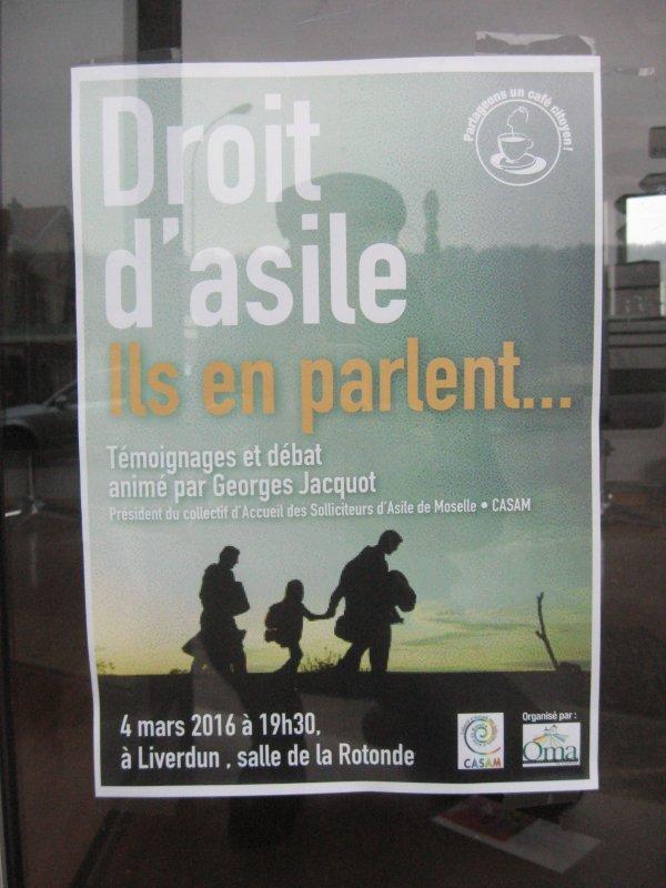 Liverdun : le Droit d'Asile .