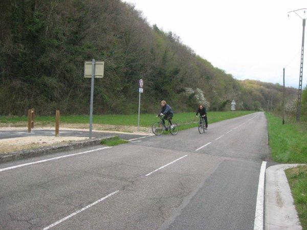 Liverdun : La voie douce de la boucle de la Moselle aux portes de Liverdun.