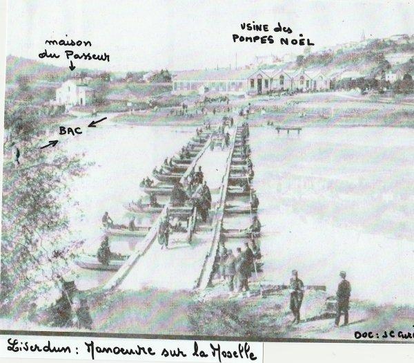 Liverdun  : La Moselle et les conflits 14-18 ....39 -45 .