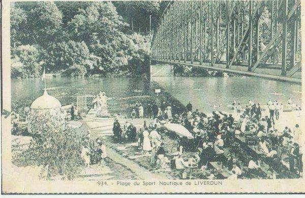 Liverdun : évolution de la boucle de la Moselle ( V ) :