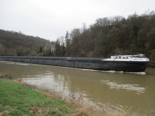 Liverdun : Evolution de la boucle de la Moselle . ( V I )