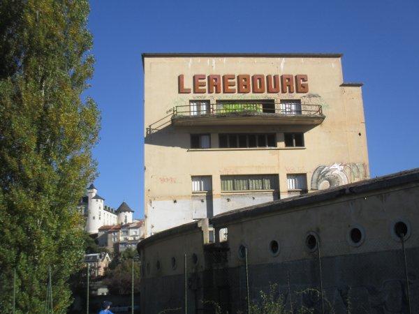 Liverdun : Le site Lerebourg ..destruction et réaménagement ( I I I )
