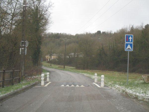 Liverdun : les accès sécurisés .