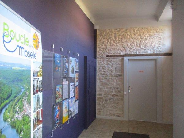 Liverdun : Rénovation de l'accueil touristique .