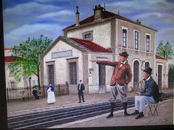 Liverdun : Histoire de trains .