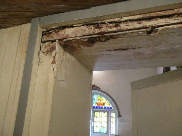 Liverdun :La chapelle : Patrimoine à rénover.