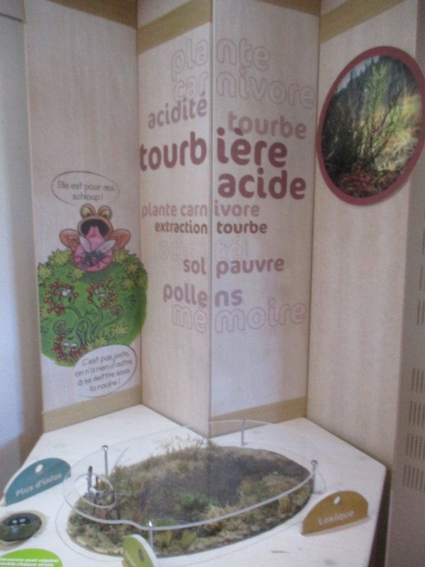 Liverdun : exposition au château Corbin .