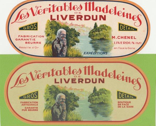 Liverdun : Ses madeleines .