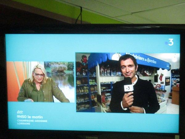 Liverdun : les madeleines ...en direct sur le petit écran<