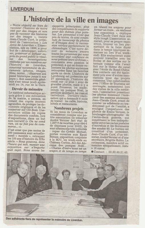 Liverdun : Le domaine des Eaux Bleues  ( I V ) .