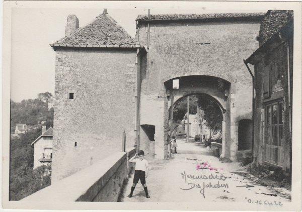 Liverdun : Porte du haut . ( I )