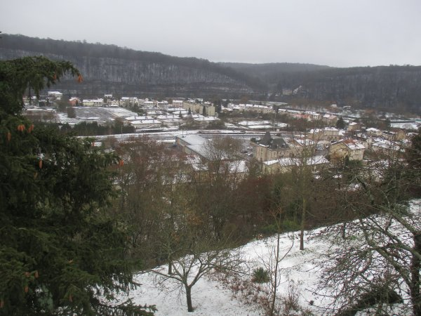 Liverdun : premier manteau blanc 2018 .