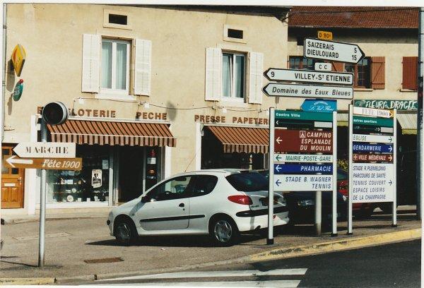 Liverdun  : Nouveaux panneaux de localisation.