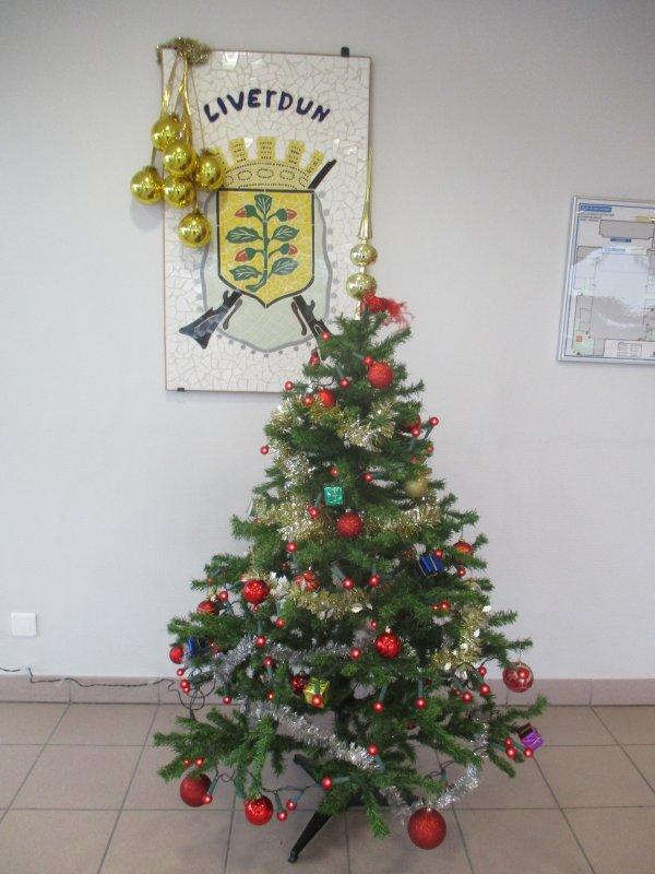 Liverdun :  Joyeux Noël 2018.