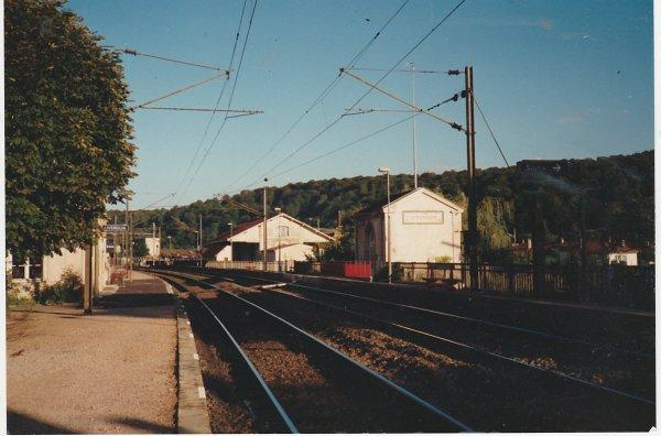 Liverdun : la gare .