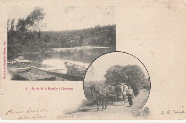Liverdun :  Cartes postales inédites .