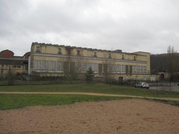 Liverdun : Le futur site paysager Lerebourg.